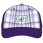 Pukka for Golf4Her Plaid Cap