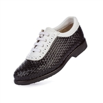 Aerogreen Alba Ladies Golf Shoe - Black/White