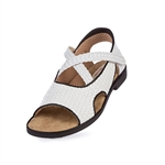 Aerogreen Amalfi Ladies Golf Sandal - White/Black