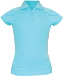 Garb Rachel Short Sleeve Blue Radiance Polo