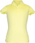 Garb Rachel Short Sleeve Yellow Polo