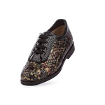 Aerogreen Costa Ladies Golf Shoe - Black Multi/ Black Patent