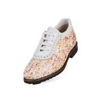 Aerogreen Costa Ladies Golf Shoe - Pink Multi/ White