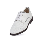Aerogreen Alba Ladies Golf Shoe - White/Silver