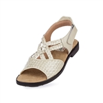 Aerogreen Salerno Ladies Golf Sandal - Pearl Metallic