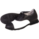 Sandbaggers Audrey Black Golf Shoe
