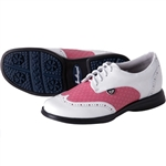 Sandbaggers Charlie Ladies Golf Shoe Fuchsia