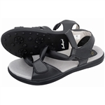 Sandbaggers Grace Black Golf Sandal