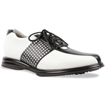 Sandbaggers Krystal Black Lace Golf Shoe