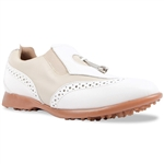 Sandbaggers Madison II Ladies Golf Shoe Almond