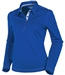 Sunice Silver Monia Long Sleeve Golf Polo Intense Blue