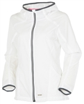 Sunice Lucy Hooded Stretch Wind Jacket - White