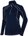 Sunice Megan Lightweight Thermal Stretch Pullover Midnight