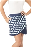 VK Sport Diagonal Cut Golf Skort