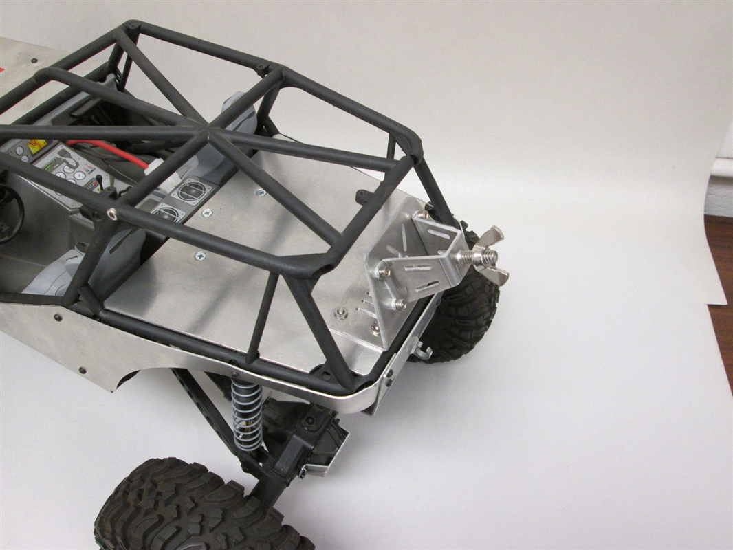 AMF Racing Axial Wraith Aluminum Rear Deck Lid With Tire Carrier