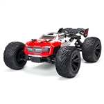 ARRMA 1/10 Kraton 4S BLX Speed Monster Truck 4WD RTR - Red