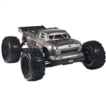 ARRMA 1/8 Outcast 6S BLX 4WD Stunt Truck RTR - Silver