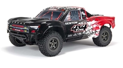 ARRMA 1/10 SENTON 4X4 3S BLX Firma SLT3 Brushless 4WD Short Course RTR  -  Black/Red