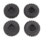 Element RC Enduro24 Pre-Mounted Wheels & Tires (4)