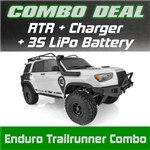 Element RC Enduro Trailrunner RTR Combo with 3S LiPo Battery and Charger