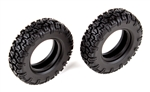 "Associated CR12 Multi-Terrain Tires 1.55"" x 3.13"" OD (2)"