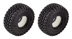 "Element RC General Grabber A/T X Tires 1.55"" x 3.85"" (2)"