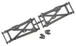 Associated Rear Lower Arms RC8 (2)