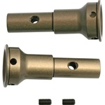 Associated Factory Team Front Stub Axle, Aluminum: RC8, SC8
