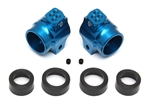 Factory Team Aluminum Rear Hubs, Blue