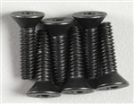 Associated Flat Head Screw 5-40x1/2 (6)