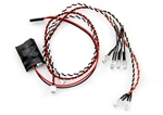 Axial Simple LED Controller w/LED lights (4 White and 2 Red)