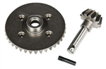 Axial Heavy Duty Bevel Gear Set 38T / 13T