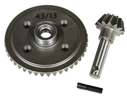 Axial Heavy Duty Bevel Gear Set 43T / 13T