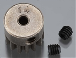Axial Pinion Gear 32P 14T Steel 3mm Motor Shaft