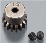 Axial Pinion Gear 32P 15T Steel 3mm Motor Shaft