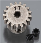 Axial Pinion Gear 32P 17T Steel 3mm Motor Shaft