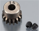 Axial Pinion Gear 32P 15T Steel 5mm Motor Shaft