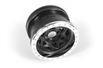 "Axial 2.2"" Walker Evans Wheels Chrome Black (2)"