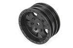 "Axial 1.9"" 1.9"" Black Rock CRC Wheels - Black (2)"
