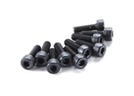 Axial M4x12mm Cap Head (Black) (10pcs)
