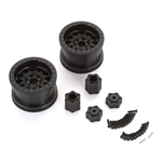 "Axial 2.2"" Method Beadlock Wheels - IFD Wheels - Black (2pcs)"
