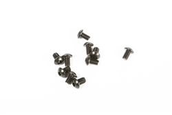 Axial Yeti M2.6x4mm Hex Socket Button Head (Black) (10pcs)