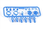 Axial 10mm Shock Parts Tree 2 Blue