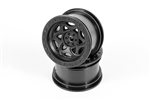 "Axial 2.2"" Walker Evans Wheels Black (2)"