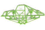 Axial Green Monster Truck Cage Left