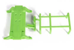 Axial Green Skid Plate & Battery Capture