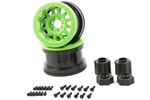 "Axial 2.2"" Method Beadlock Wheels IFD Green (2pcs)"