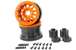 Axial 2.2 Method Beadlock Wheels IFD Orange (2pcs)