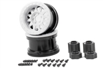 "Axial 2.2"" Method Beadlock Wheels IFD White (2pcs)"