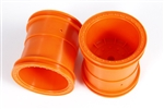 Axial 2.2 Monster Truck Wheels 63mm (Orange) (2pcs)